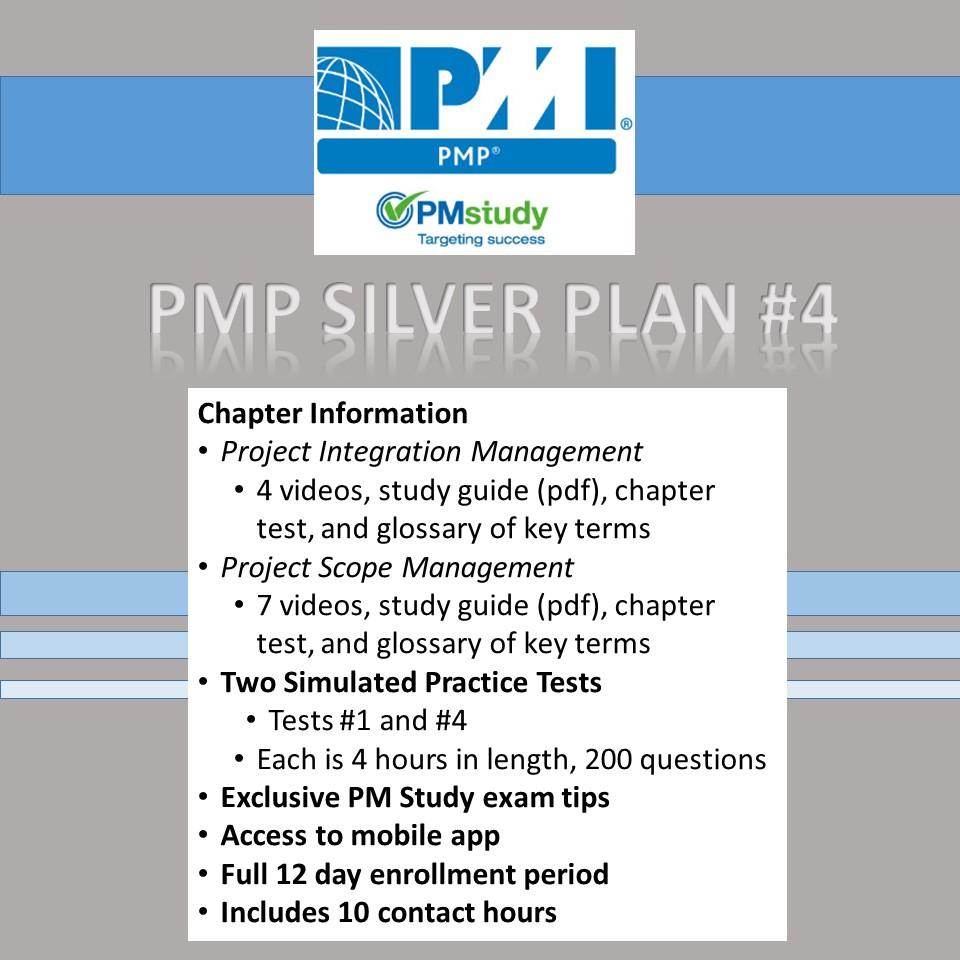 Pmp Silver Plan Test 4